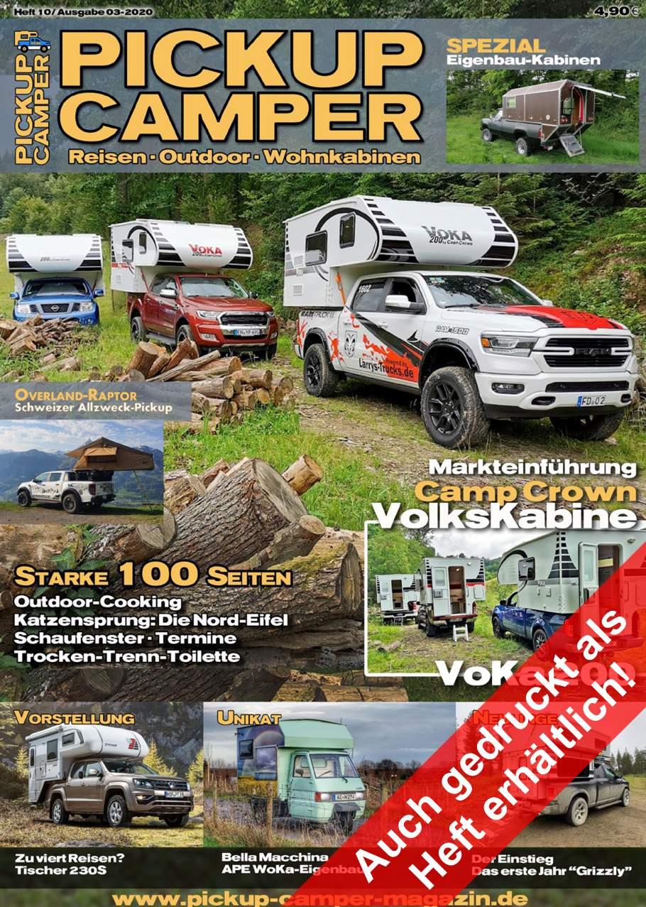 Pickup Camper Magazin Heft 10