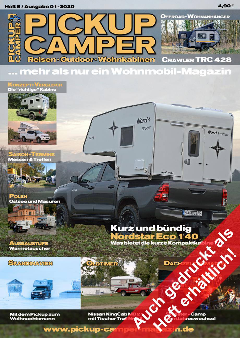 Pickup Camper Magazin Cover Heft 10