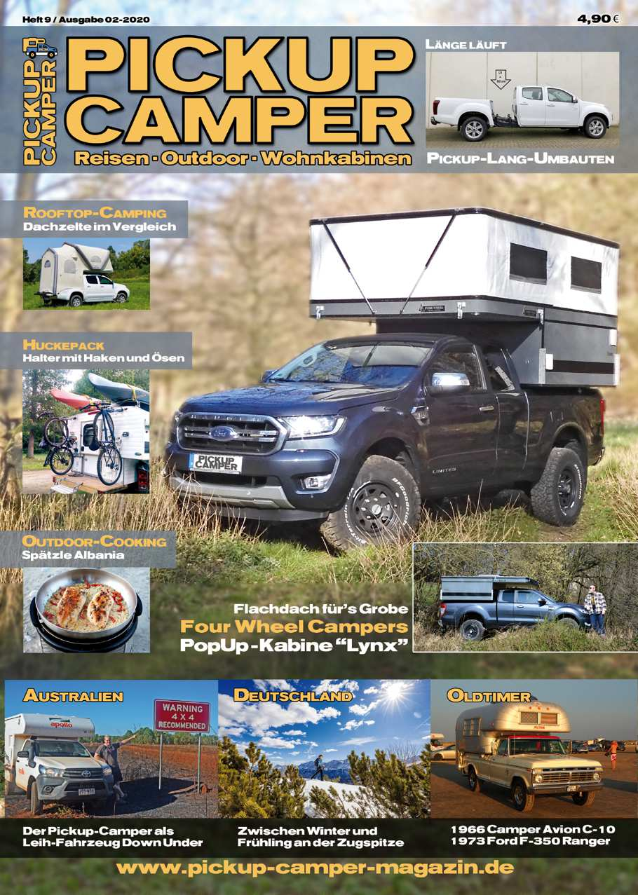 Pickup Camper Magazin Heft 9 Cover