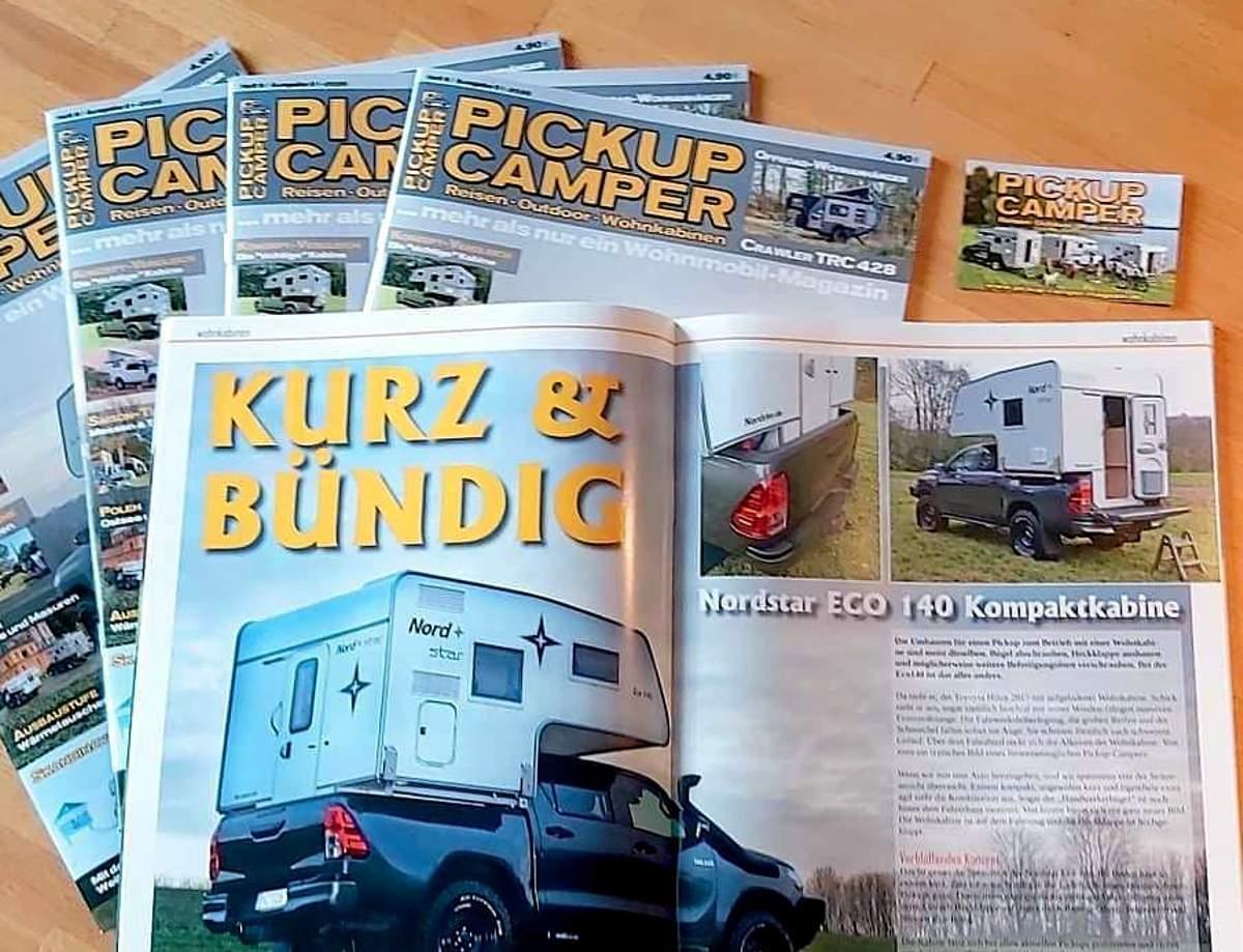 Pickup Camper Magazin jetz auch gedruckt