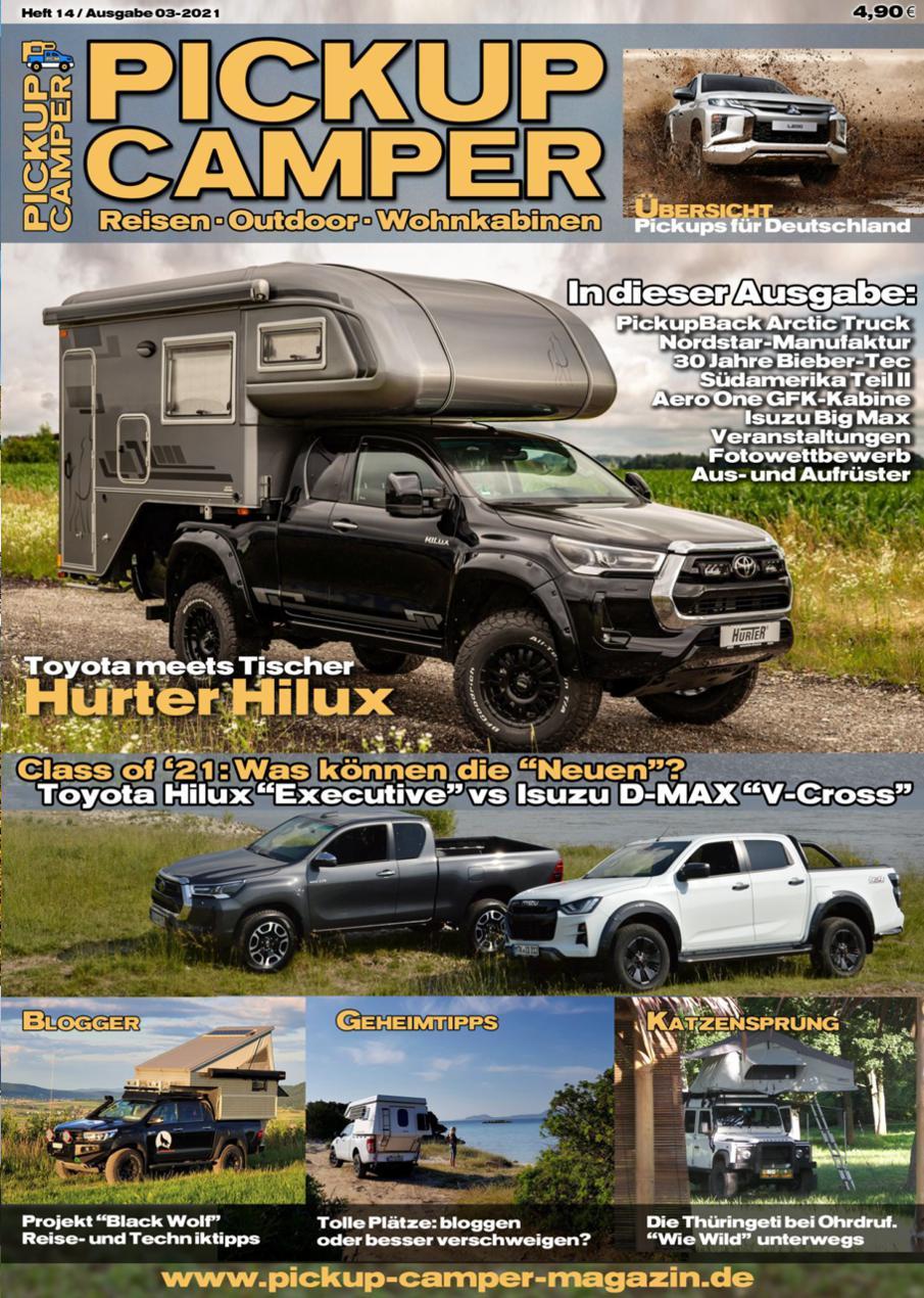 Pickup Camper Magazin Cover Heft 14