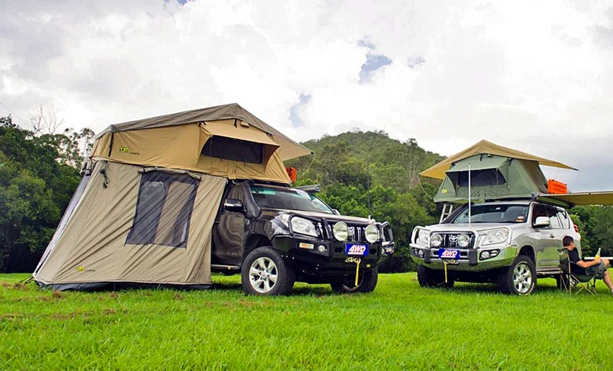 Pickup Camper Magazin Dachzelte