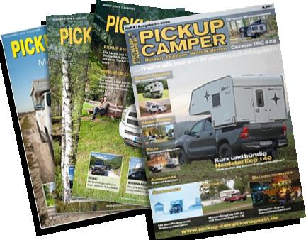 Pickup Camper Magazin im Abo
