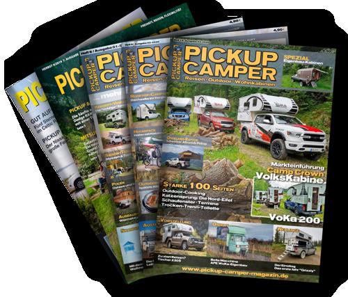 Pickup Camper Magazin Hefte Abo kaufen