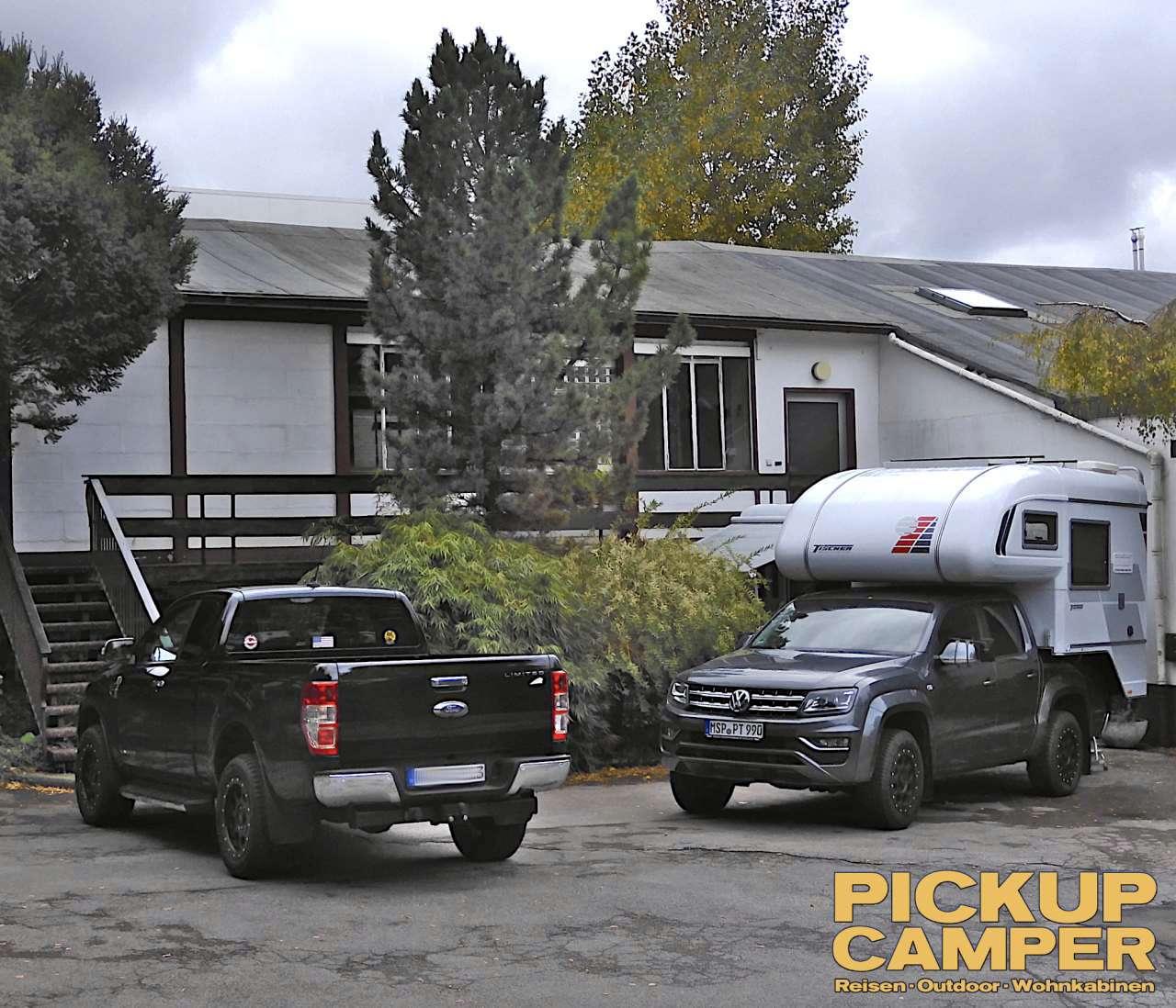 Pickup Camper Magazin Tischer Roadshow